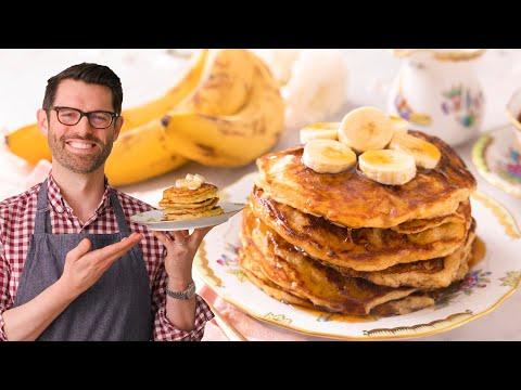 banana pancake sandwich