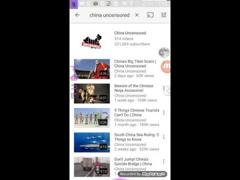 China Uncensored channel sucks only about money