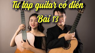 Hướng dẫn học guitar cổ điển bài 13: Etude D_ Carulli