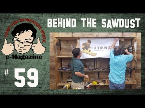 Tour the shop of a woodworking master! (Charles Neil & the Lumberjocks event)