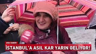 İstanbul'a asıl kar yarın geliyor