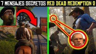 7 Mensajes Secretos de Red Dead Redemption 2 que NO Entendiste