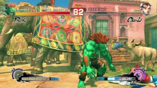 Super Street Fighter IV - Blanka Arcade
