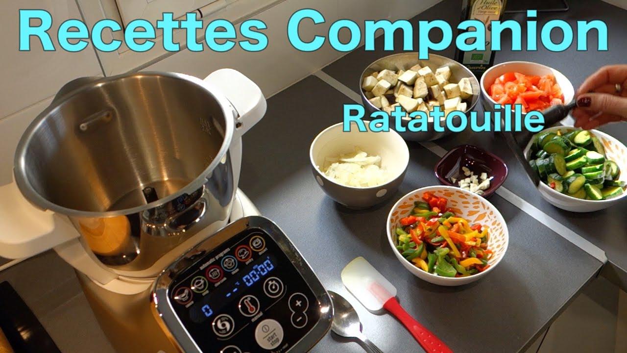 Recettes Companion , Ratatouille