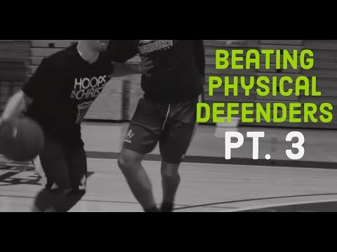 Beating Physical Defenders Pt. 3: Kyrie Stiff Arm   Basketball Training