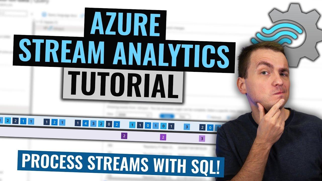 Azure Stream Analytics Tutorial   Processing stream data with SQL
