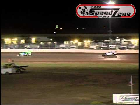 Oshkosh Speedzone Raceway - August 23, 2013 - WDLMA Late Model Feature Race