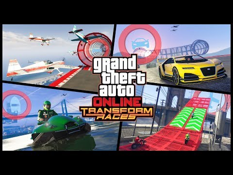 GTA Online: Transform Races Trailer