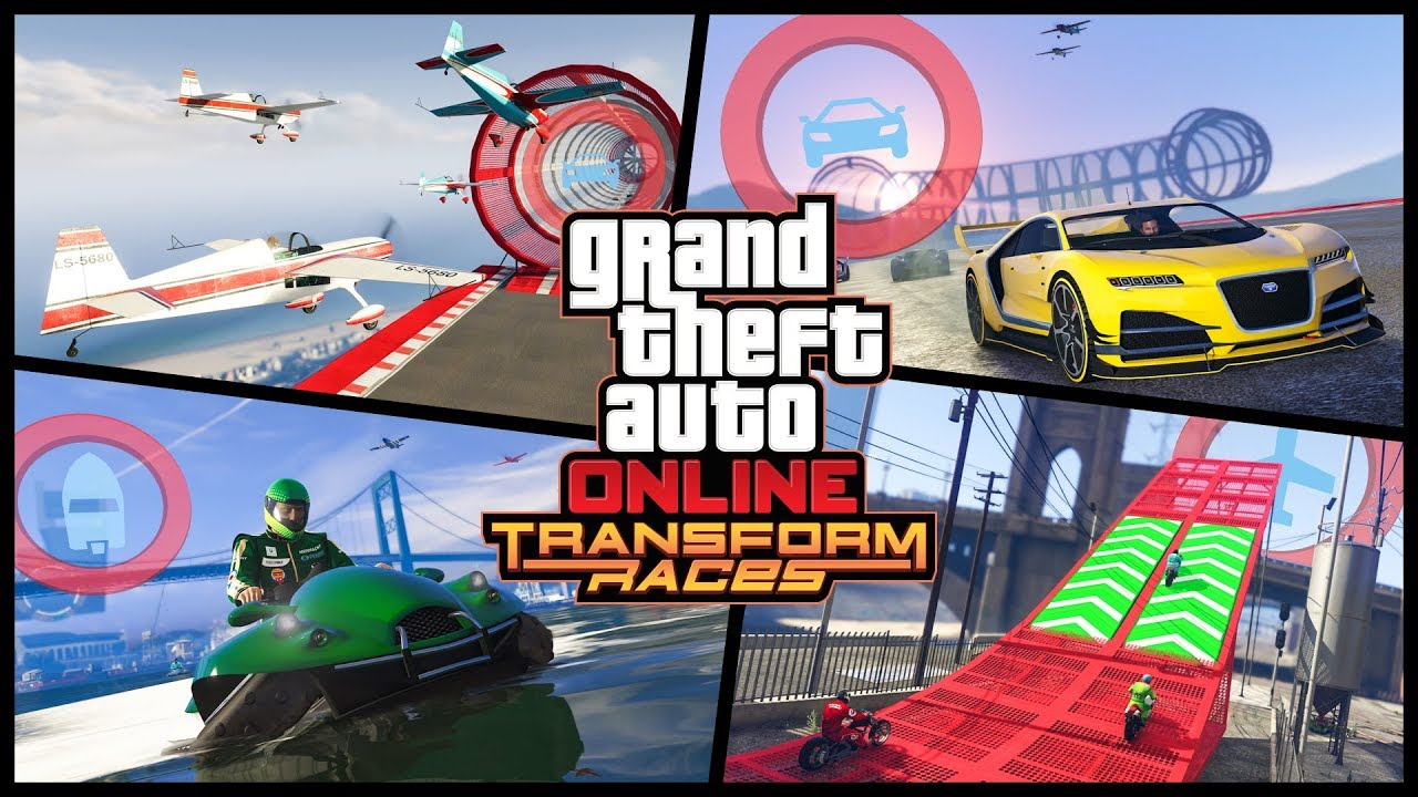 Gta Online Transform Races Trailer Rockstar Games