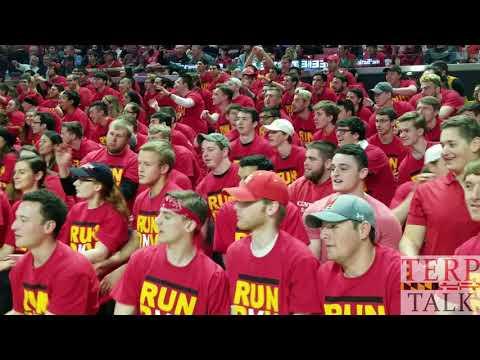 Flash Mob Maryland  v Michigan State 2018
