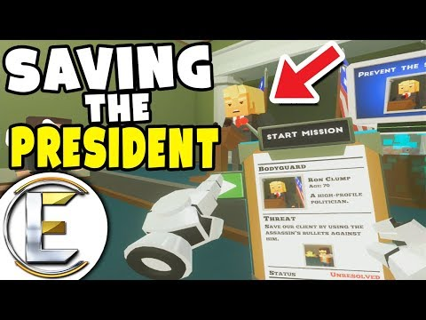 SAVING THE PRESIDENT! - Just In Time Incorporated (Controlling Fate in Virtual Reality)