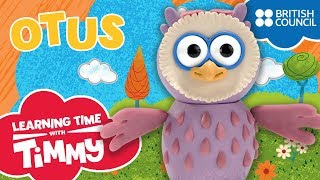 Meet Otus | Learning Time with Timmy | Cartoons for Kids