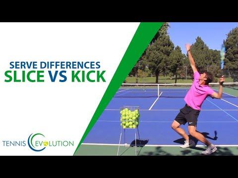 Tennis Serve: MUST-KNOW Kick Vs Slice Serve Differences