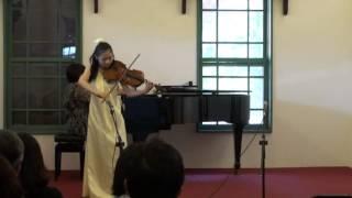 Yu-Chun Cheng : Bela Bartok Viola Concerto Op. Posth. Mov. 1.