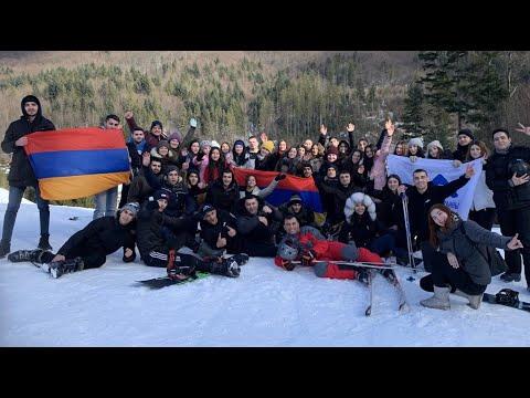 Зимний лагерь Союза армянской молодёжи Украины 2020