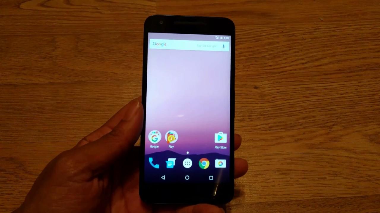 Android 7.1 Nexus 5x
