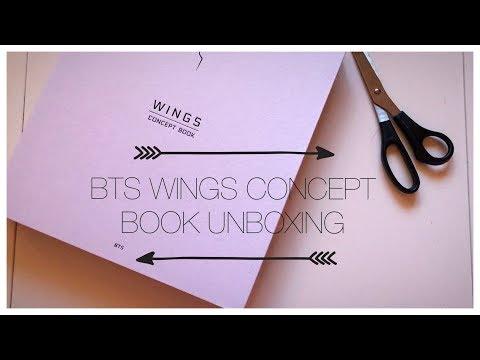 BTS WINGS CONCEPT BOOK UNBOXING (+ MINI HAUL)