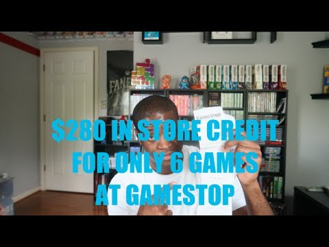 280 Gamestop Store Credit For Only 6 Games Youtube