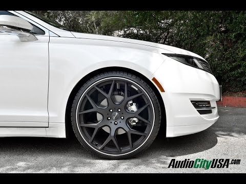 "Lincoln MKZ 3.7 2014 on 22"" Gianelle Wheels - YouTube"