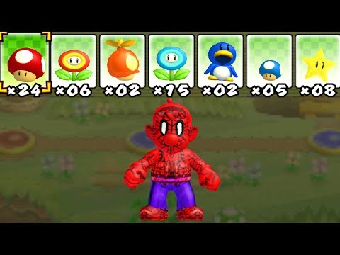 What happens when Spider-Man uses Mario