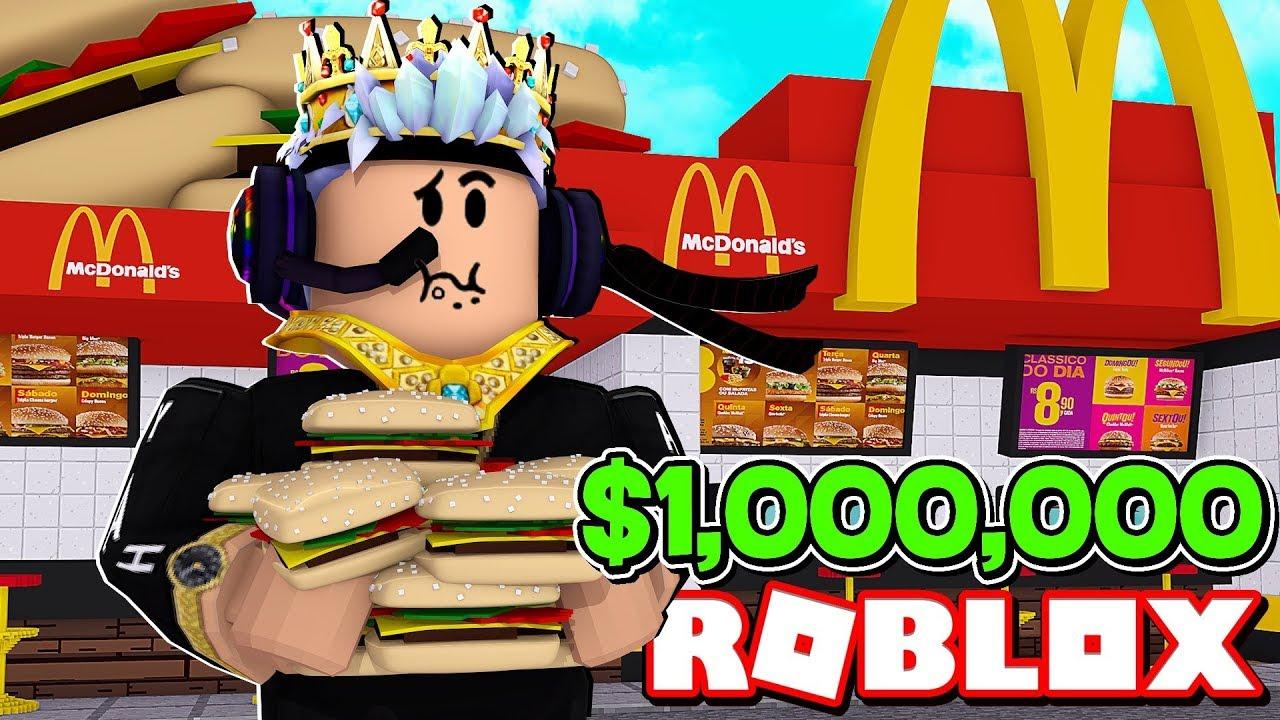 FAST FOOD SIMULATOR IN ROBLOX - YouTube