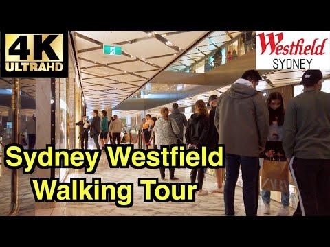 [4K] SYDNEY WALK | Westfield Shopping Centre In Pitt Street Sydney Australia