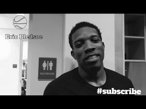 Eric Bledsoe Interview (talks his favorite sneakers, basketball inspiration and skill)