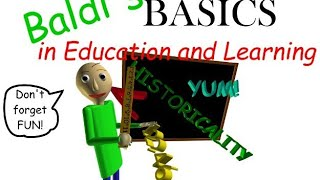 Baldi's Basics in Education and Learning - Android Gameplay