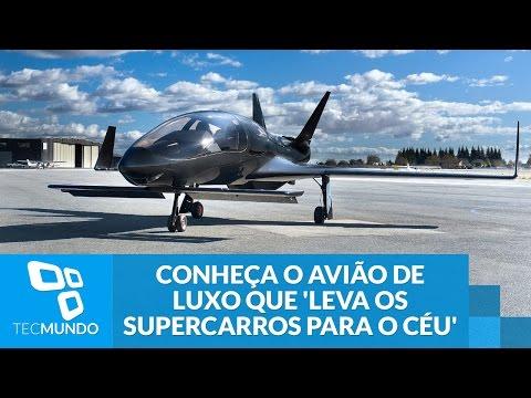 Co50 Valkyrie: conheça o avião de luxo que 'leva os supercarros para o céu'