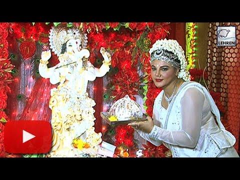 Rakhi Sawant's Ganpati Festival | Exclusive Interview | LehrenTV