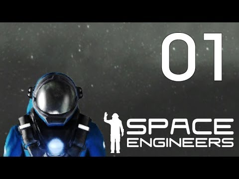 Space Engineers Let's Play Part 1 - A Strategy to Start