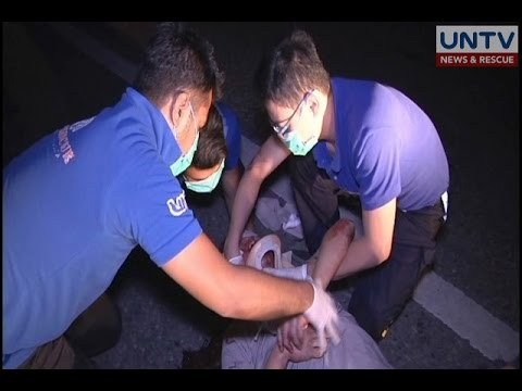 UNTV News & Rescue Team aids victim of motorcycle accident in Cabanatuan