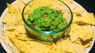Nachos With Guacamole - Recipe - Easy