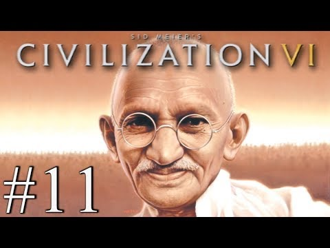 GANDHI LOVE NATION - Civilization VI - Religious Victory #11