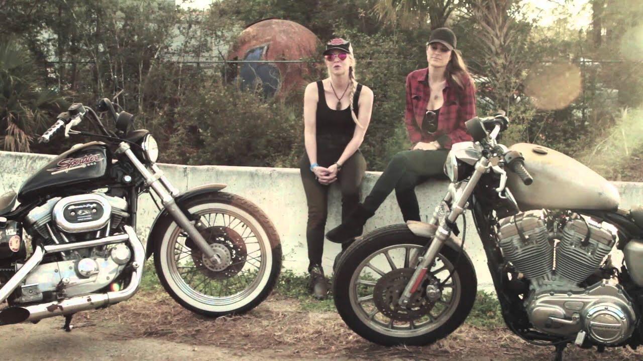 Harley Riders: Female Harley-Davidson Riders At Daytona Bike Week