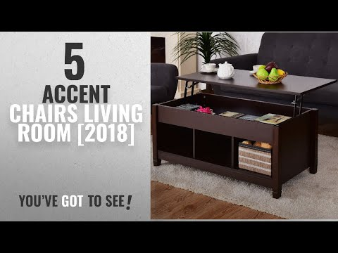 Top 10 Accent Chairs Living Room [2018]: Tangkula Lift Top Coffee Table Modern Living Room Furniture