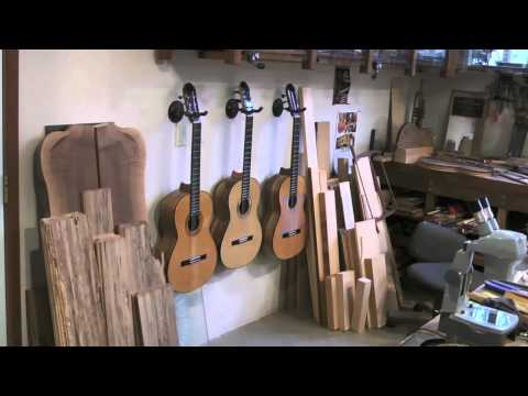 Stansell Guitars Shop Tour