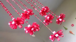 DIY Wall Hanging out of Paper | How to Make Paper Wall Hanging | Paper Craft Ideas
