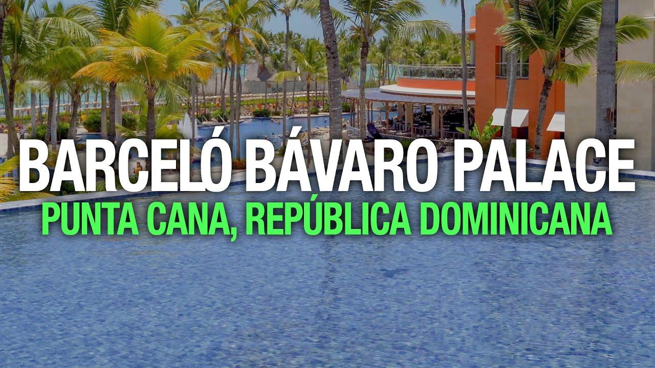 Barceló Bávaro Palace, Punta Cana, República Dominicana 4K - Nos Vamos de Paseo