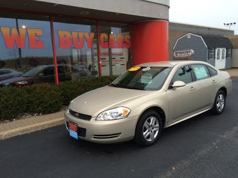 2010 chevrolet impala ls tan hometown motors of wausau