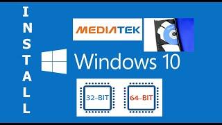 Install MTK (MediaTek Drivers) Windows 10 64 bit & 32 bit