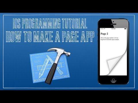 iOS 7 Tutorial 14 - Page View App