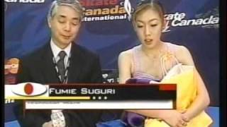 Fumie Suguri 村主 章枝 (JPN) - 2001 Skate Canada, Ladies' Free Skate 村主章枝 検索動画 29