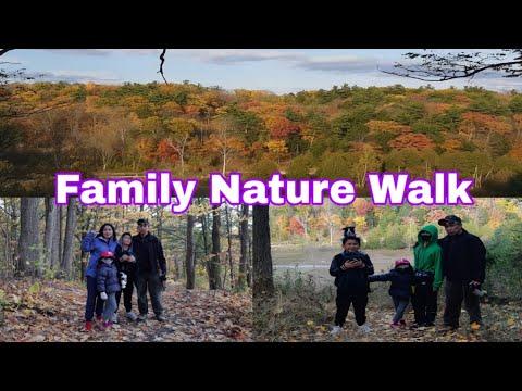 Family Nature Walk The Beauty Of Fall Season In Toronto