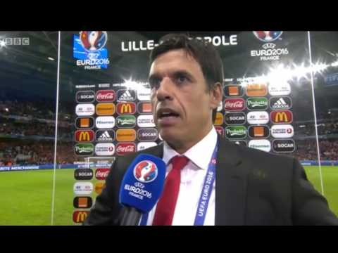 Chris Coleman Comments after Wales beat Belgium 3-1 Quarterf