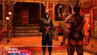 The Dark Eye Demonicon PC Walkthrough Part 5 Battle at The Thorned Rose Gameplay Let