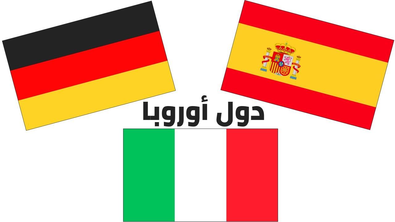 أعلام الدول الأوروبية وأسماؤها بالصور وباللغة العربية European Countries Flags And Names In Arabic Youtube