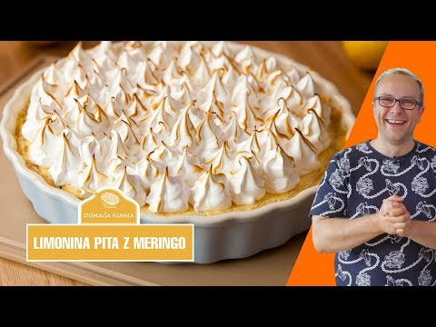Limonina pita z meringo