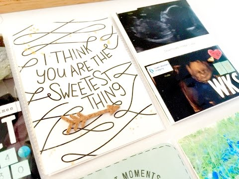 Project Life Process Video ~ Gender Reveal + + + INKIE QUILL