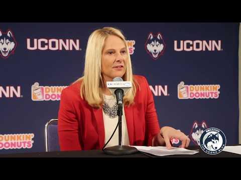 Maryland WBB Head Coach Brenda Freese Postgame (UConn) - 11/19/17.m4v